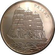 20000 pesos (Bateau Passat) – revers