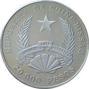 20 000 Pesos (Protection de la nature) – avers