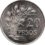 20 pesos (FAO) – revers