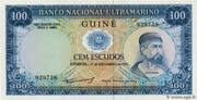 100 Escudos (Portuguese Guinea) – avers