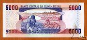5 000 Pesos – revers
