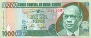 10,000 Pesos – avers