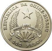 2000 pesos (FAO - Récolte d'ananas) – avers