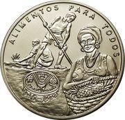 2000 pesos (FAO - Récolte d'ananas) – revers