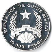 10 000 Pesos (Éléphant) – avers