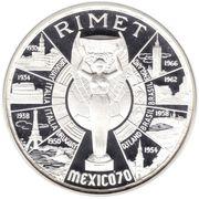 200 Pesetas (Coupe du monde de football Mexique 1970) – revers