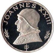 75 Pesetas  (Pape Jean XXIII) – revers