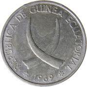 25 pesetas – avers