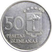 50 pesetas – revers
