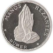 50 pesetas (Mains en prière) – revers