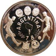 2 000 Ekuele (Coupe du monde de football Argentine 1978) – revers
