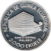 2000 Ekuele (Guépard) – avers