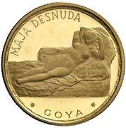 250 Pesetas Guineanas (Maja Desnuda) – revers