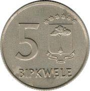 5 bipkwele – revers