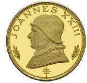 500 Pesetas Guineanas (Pape Jean XXIII) – revers