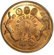 2000 ekuele (Coupe du monde de football Argentine 1978, essai) – revers