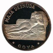 100 pesetas (Maja Denudée) – revers