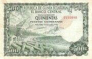 500 Pesetas Guineanas – avers