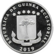 1000 Francs (Cocoteros island) – avers