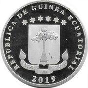 1000 Francs (Conga island) – avers