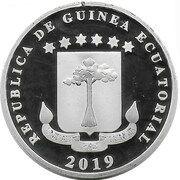 1000 Francs (Mbañé island) – avers