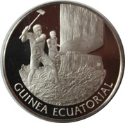 UN Medaillon - Equatorial Guinea – avers