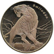 5 dollars (Smilodon) – revers