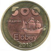 500 Ekueles – avers