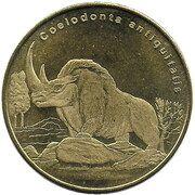 5 Dollars Coelodonta (Bioko island) – revers