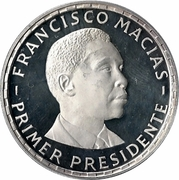 200 Pesetas (Francisco Macias) – revers