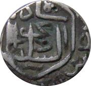 ½ Tanka - Nasir al-din Mahmud shah I (Muhammadabad Champanir mint) – avers