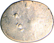 ½ Drachm (Late Gupta, Malwa Region) – revers