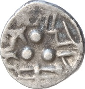 ½ Drachme (Late Gupta, Malwa Region) – avers
