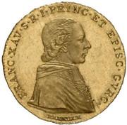1 ducat Francois Xavier – avers