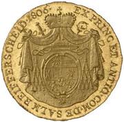 1 ducat Francois Xavier – revers
