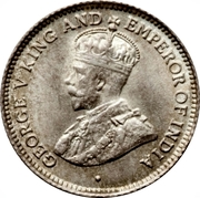 4 pence - George V – avers