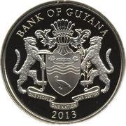 2000 dollars (Révolte d'esclaves à Berbice) – avers