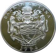 50 dollars (Visite royale) – avers