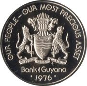 50 cents (Hoazin huppé) – avers