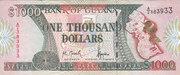 1000 Dollars – avers