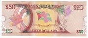 50 Dollars - 50 Years of Independence. – revers