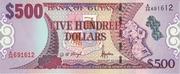 500 Dollars – avers