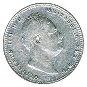1 guilder - William IV – avers