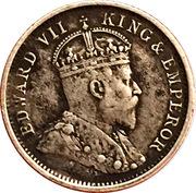 4 pence - Edward VII – avers