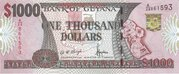 1,000 Dollars – avers