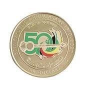 100 dollars (50 ans de la République) – revers