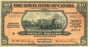 20 Dollars / 4 Pounds 3 Shillings 4 Pence – avers