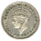4 pence - George VI – avers