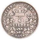 ¼ guilder - William IV – revers