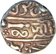1 Rupee - Jiyaji Rao (Muhammad Akbar II) – revers